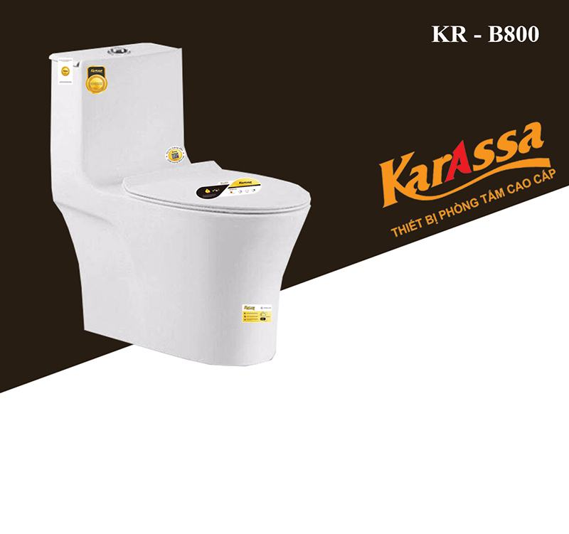 Bồn Cầu Liền Khối Karassa KR-B285