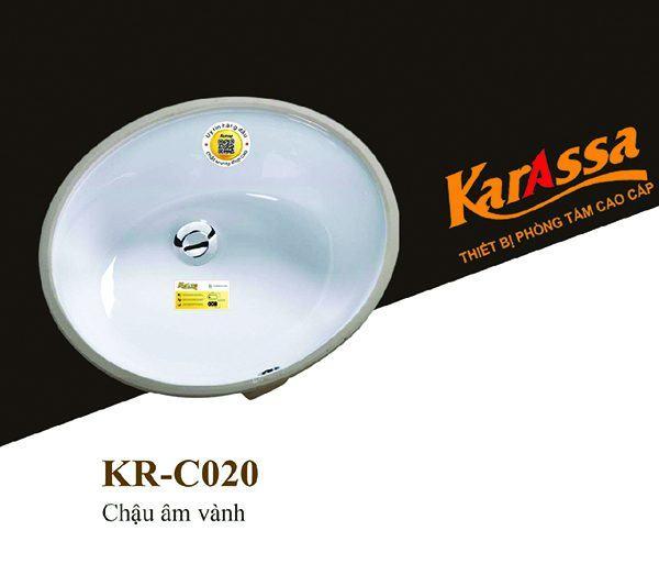 Chậu rửa âm bàn KarAssa KR-C020