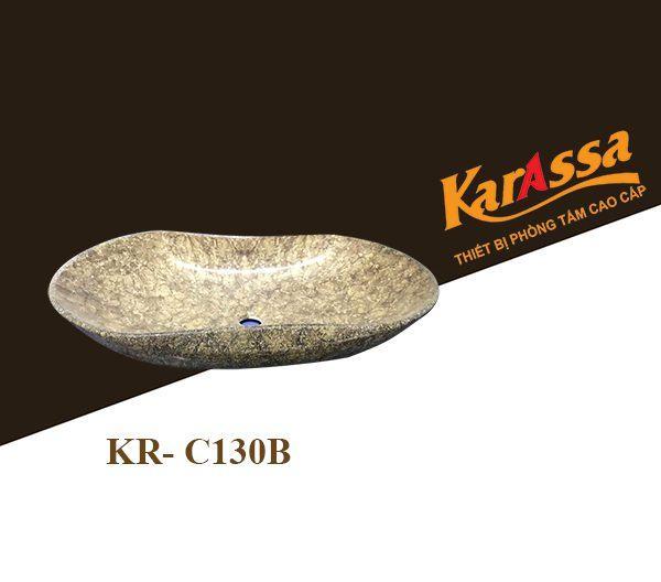 Chậu Lavabo dương bàn KarAssa KR-C130B