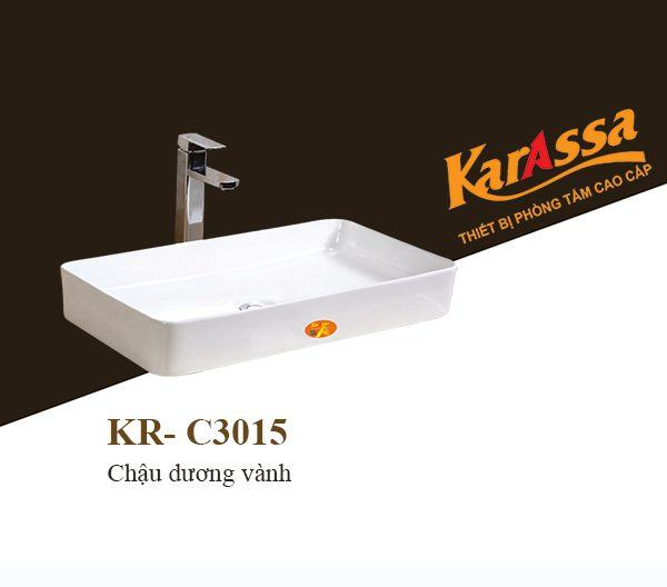 Chậu lavabo dương bàn KarAssa KR-C3015