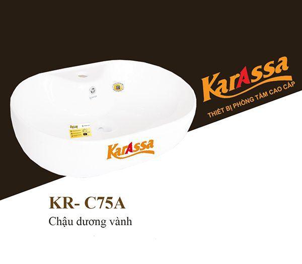 Chậu rửa dương bàn KarAssa KR-C75A
