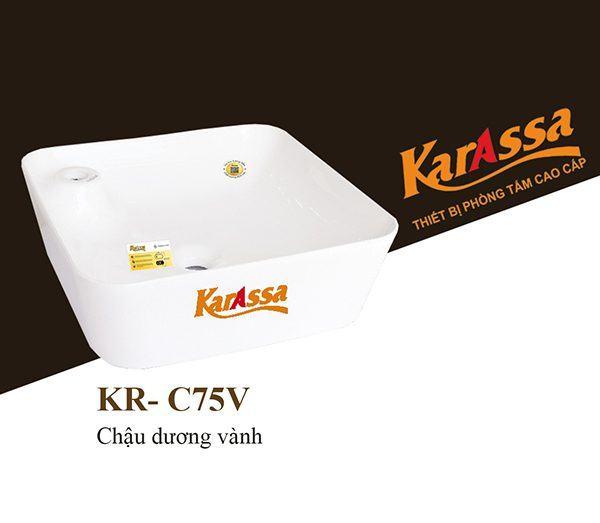 Chậu rửa dương bàn KarAssa KR-C75V