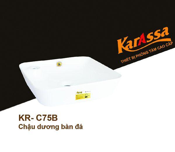 Chậu rửa dương bàn KarAssa KR-C75B