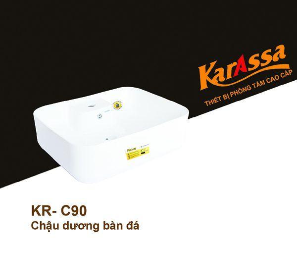 Chậu rửa mặt dương bàn KarAssa KR-C90