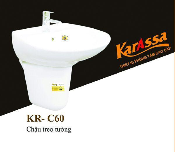 Chậu rửa treo tường KarAssa KR-C60