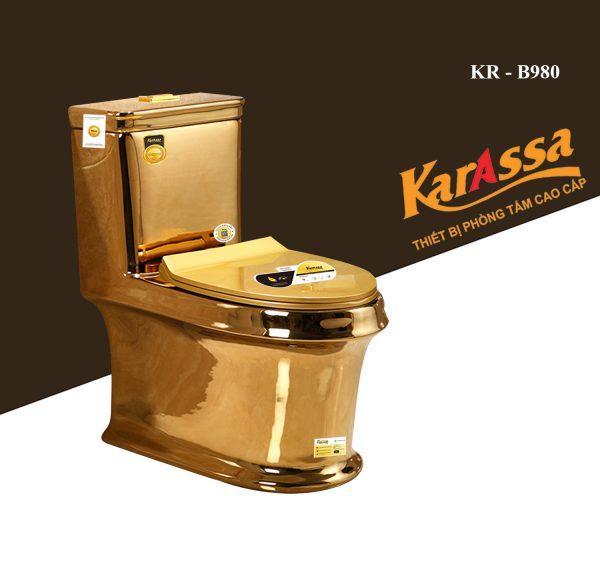 Bồn cầu liền khối Karassa KR-B980